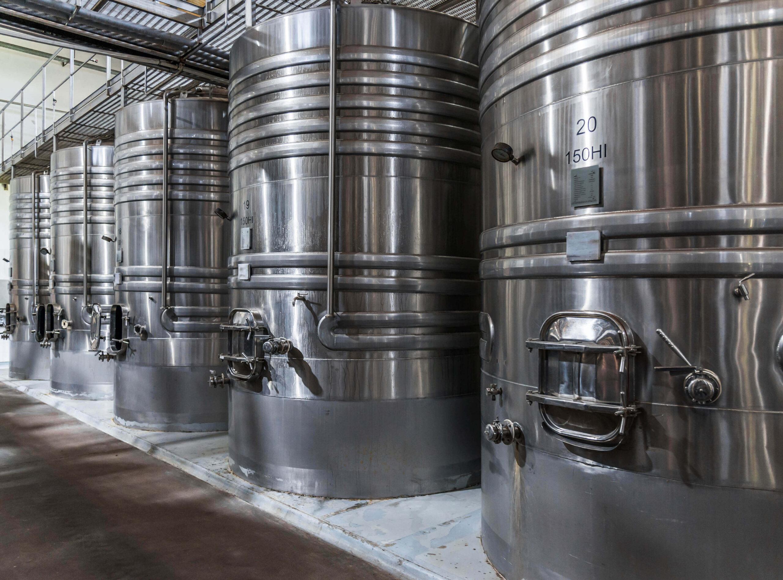 Creeds Fermentation Tanks